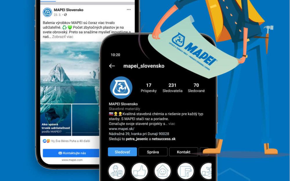 MAPEI Slovensko: social media a online PR
